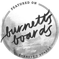San Diego photographer featured on Burnett's Boards