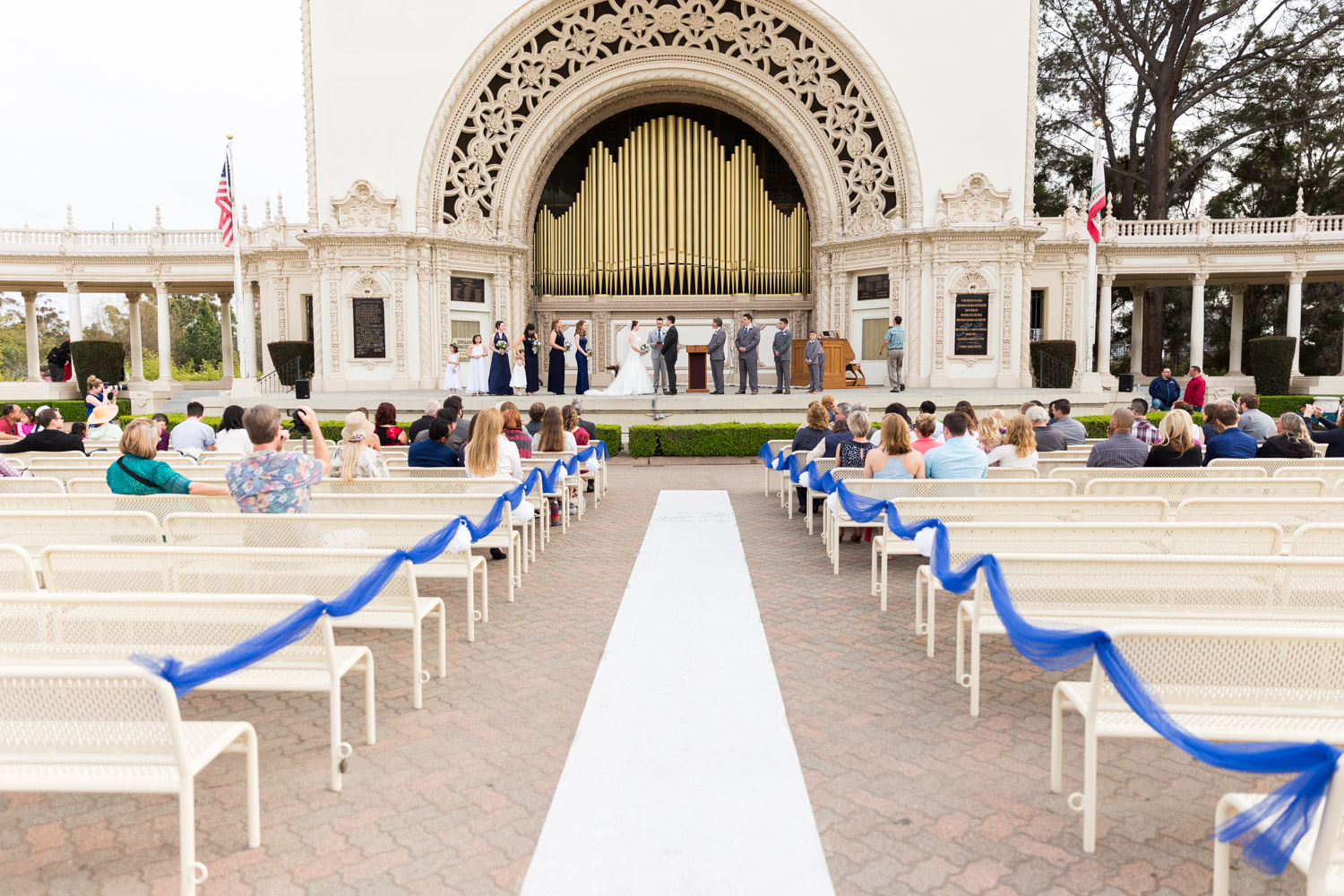 Balboa Park Organ Pavilion Wedding