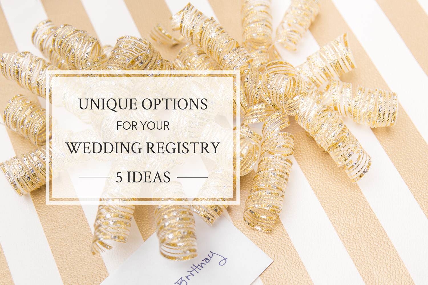wedding registry ideas affordable navokalcom With alternative wedding registry ideas