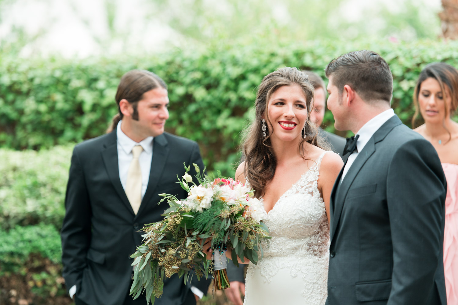 Bridal party portraits at Desert Ridge in Palm Springs, Cavin Elizabeth Photography