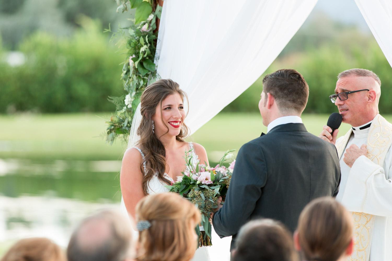 Wedding ceremony at Desert Ridge Estate, Cavin Elizabeth Photography