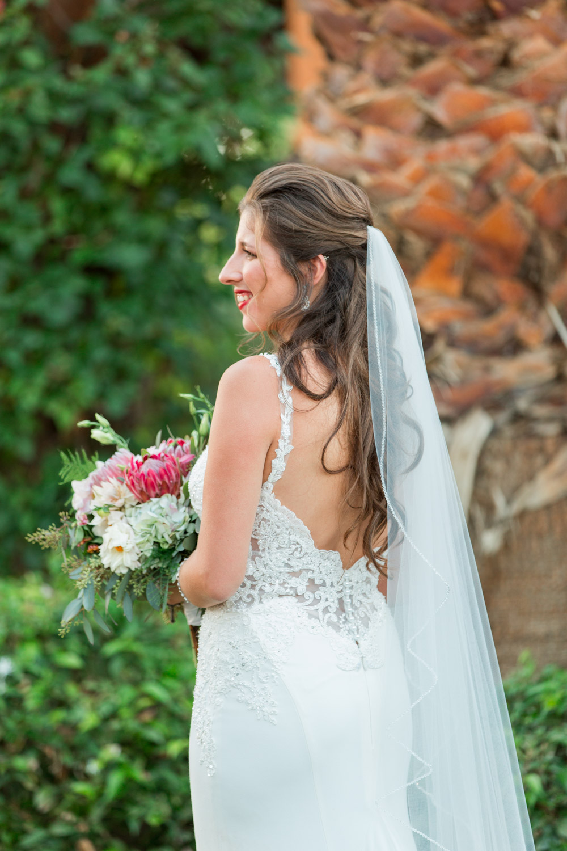 Bridal portrait at Desert Ridge Estate in Palm Springs, Cavin Elizabeth Photography