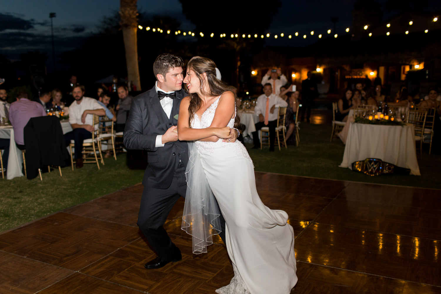 First dance with bride and groom, Cavin Elizabeth Photography