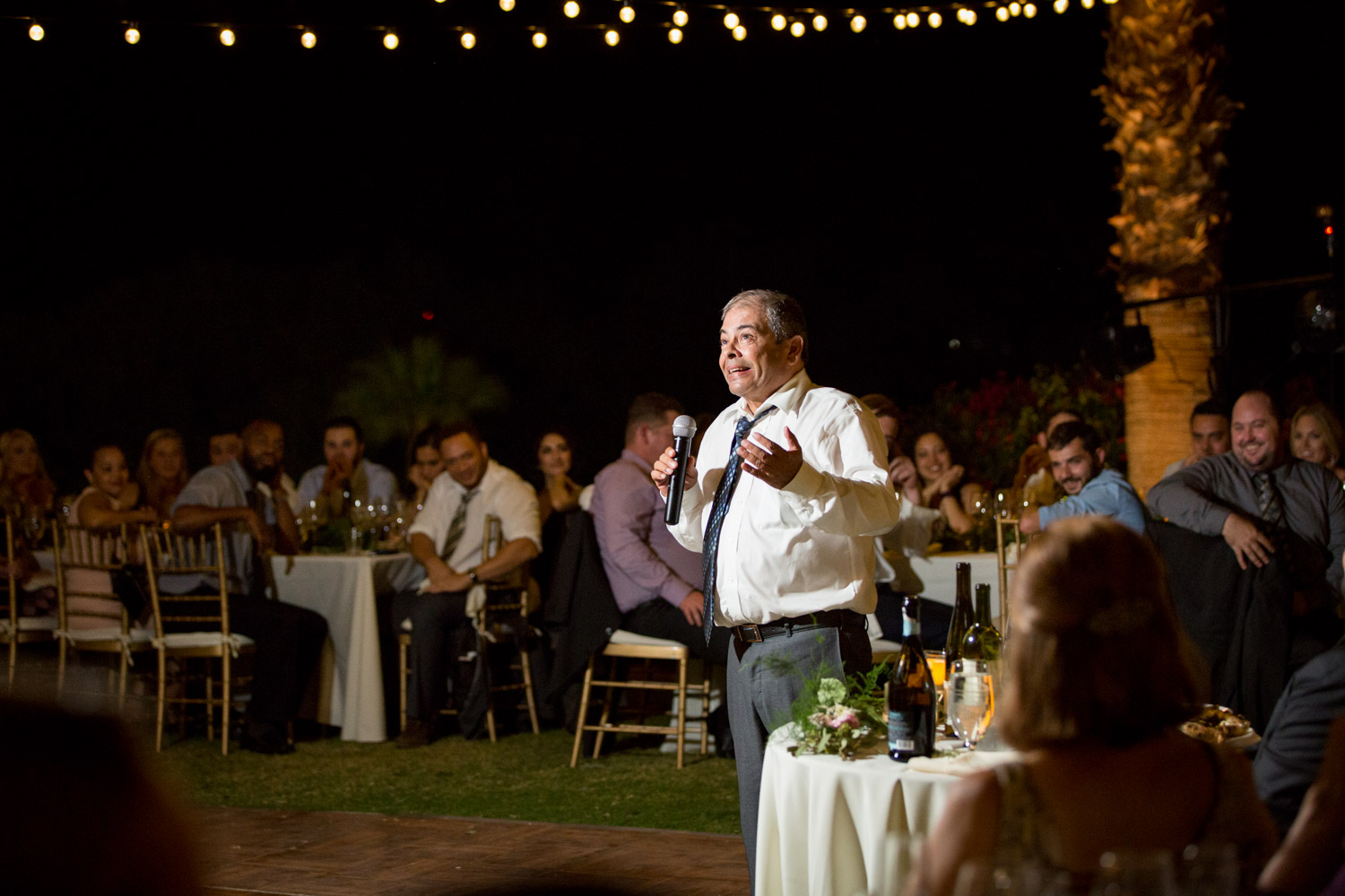 Father of the groom giving a wedding toast, Cavin ELizabeth Photography