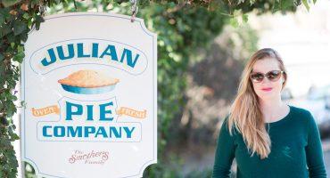 Cavin Elizabeth visits Julian Pie Company in California