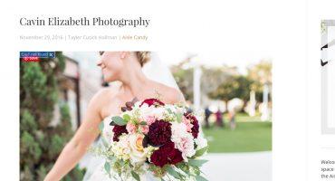 Cavin Elizabeth Photography featured on Aisle Planner, Wedding Photography Interview on Aisle Planner