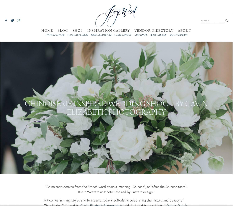 Wedding Inspiration at Rancho Valencia Published on Joy Wed