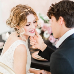 Chic Pink Wedding Inspiration with Amorology and Cavin Elizabeth 36
