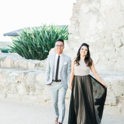Mission San Juan Capistrano Engagement Photos 2