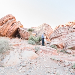 Red Rock engagement photography 2