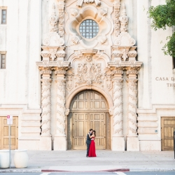 San Diego Balboa Park engagement photography 3