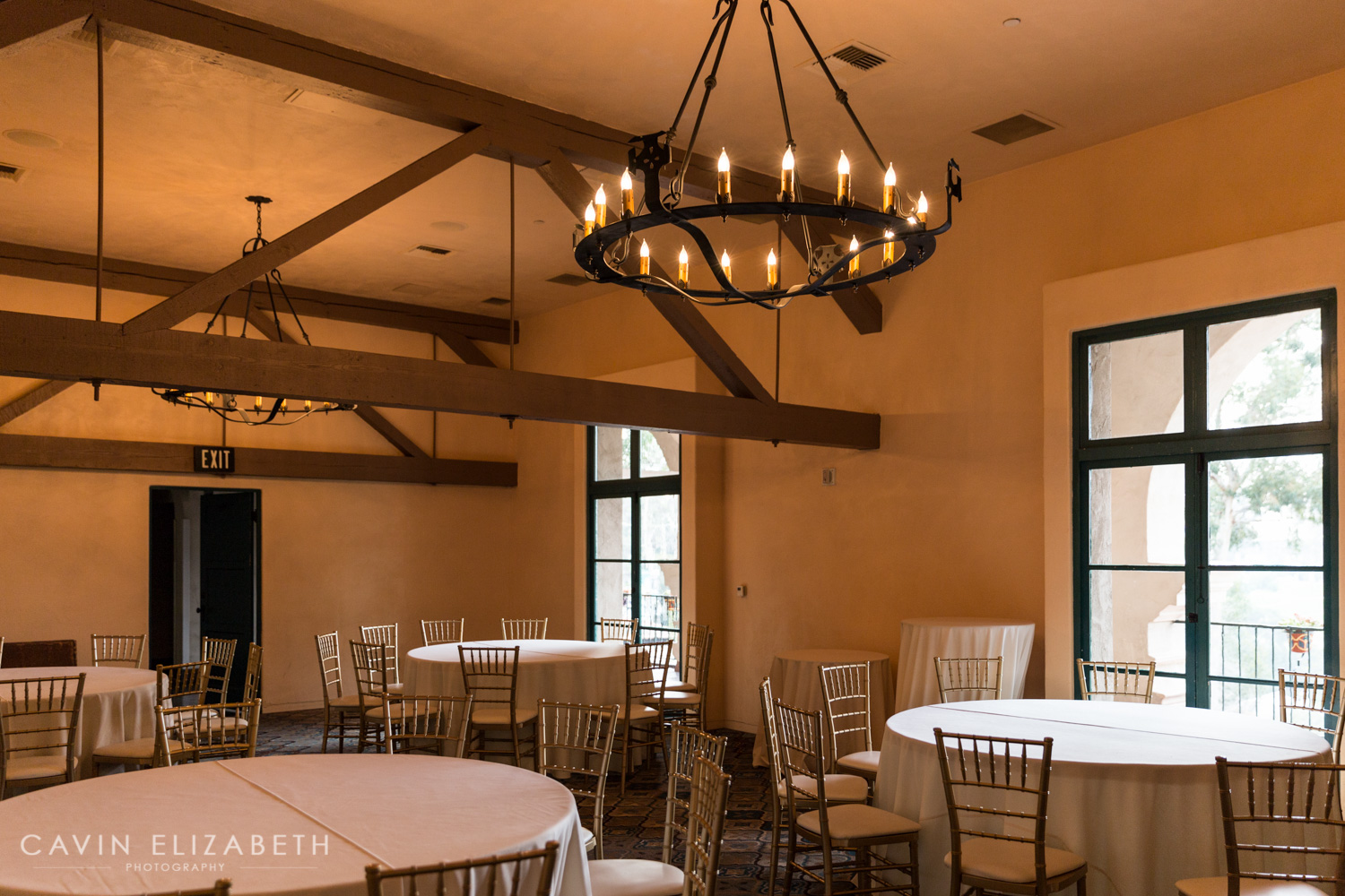The Prado Alhambra room at Balboa Park, reception venues in San Diego