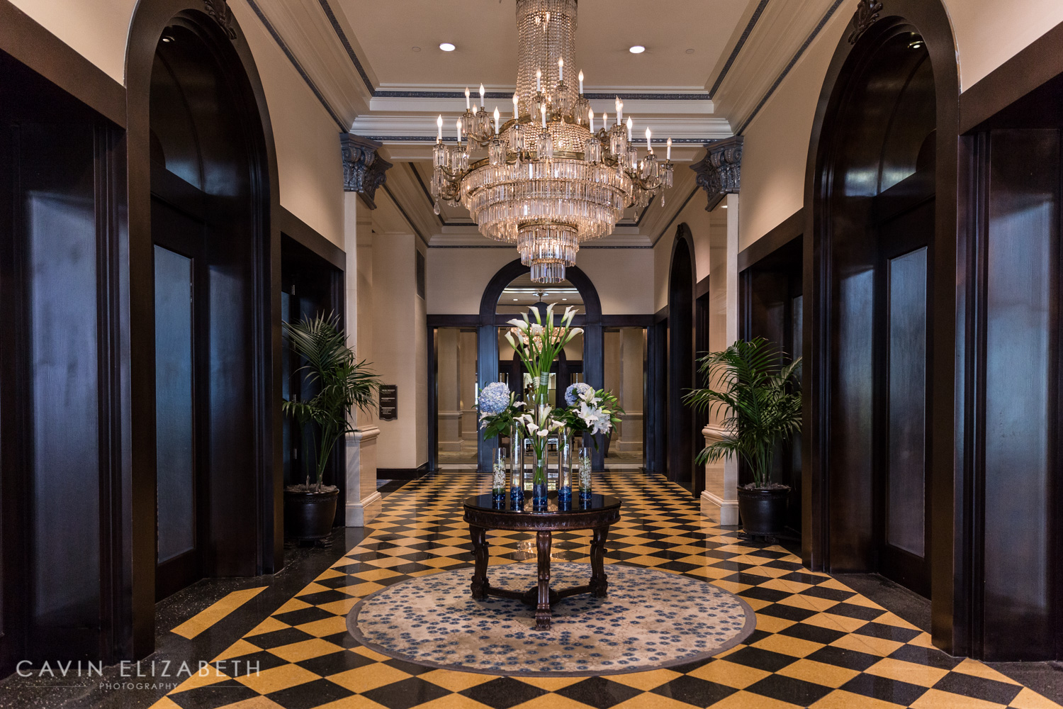 The US Grant Foyer Wedding Budget Hotel San Diego