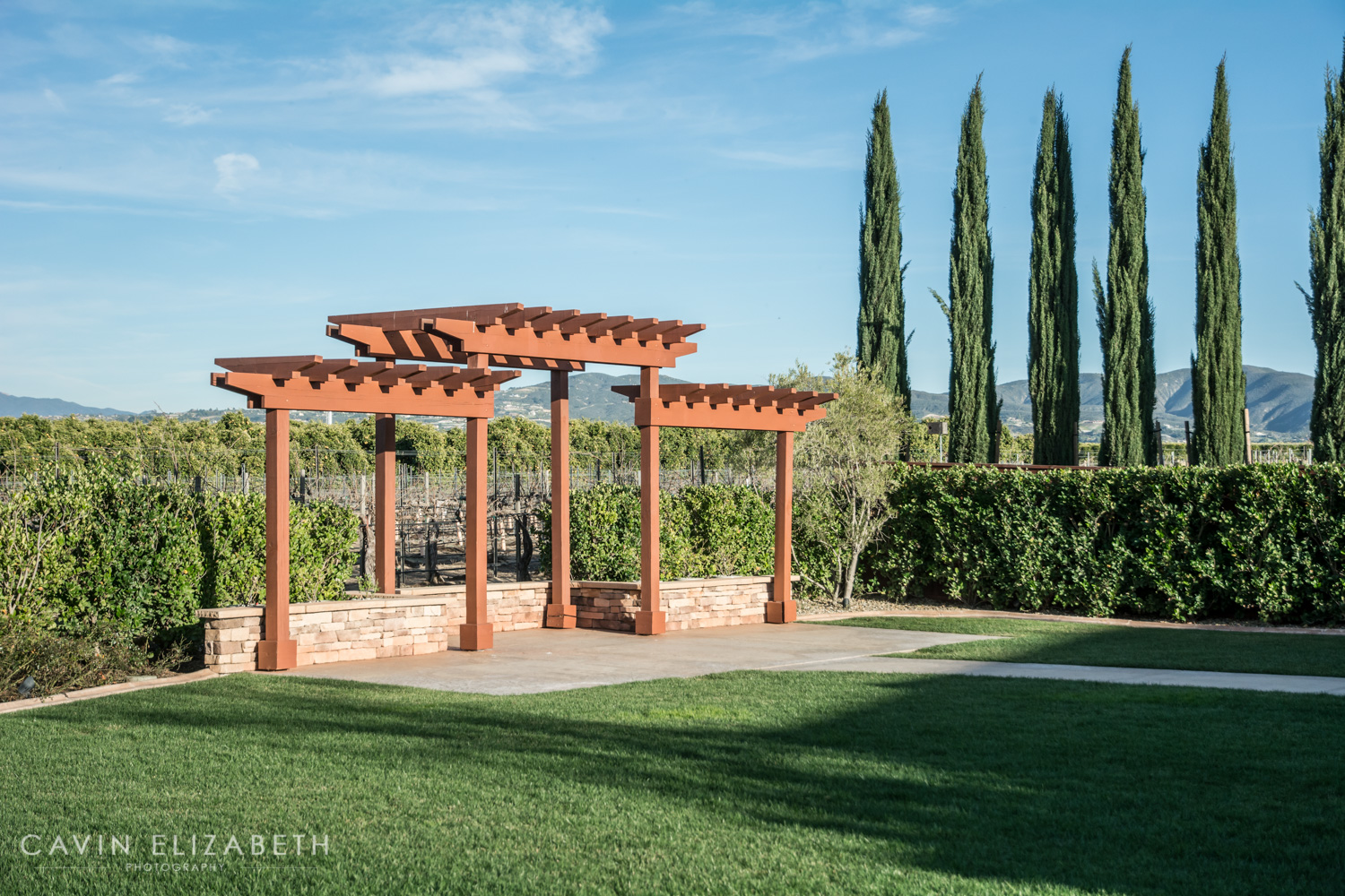 Wiens Family Cellars Wedding Venue Ceremony Site In Temecula