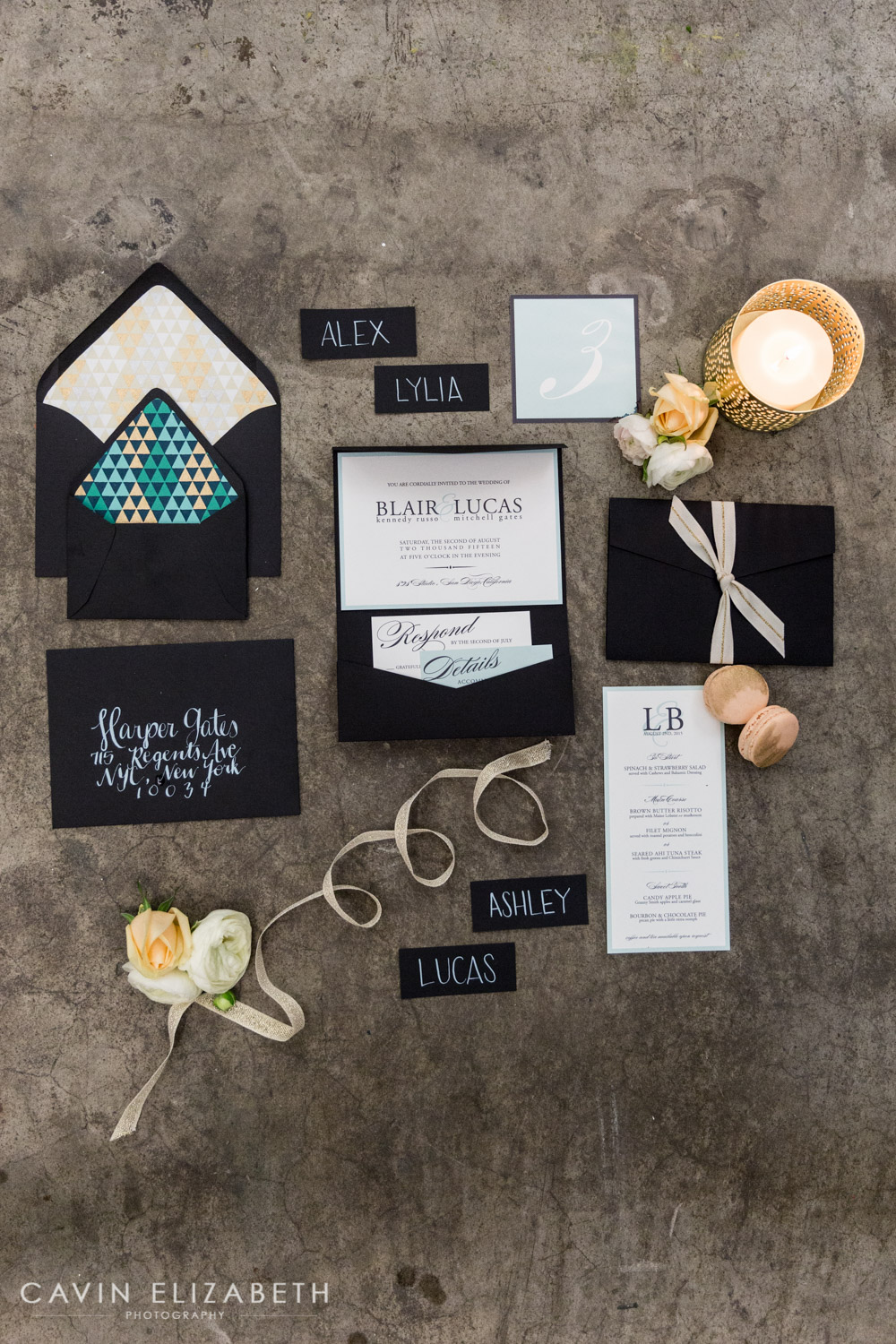 Save The Date Card Ideas In San Diego, Paper Invitations By Honestly Kate  In San