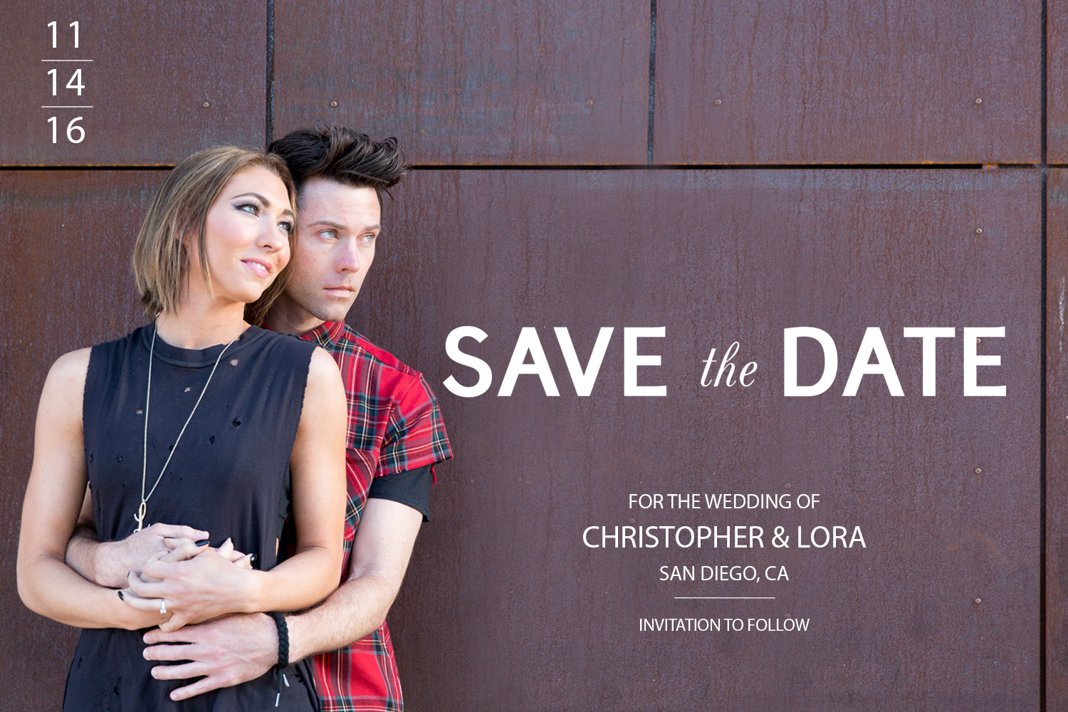 Engagement Save The Date | Arts - Arts