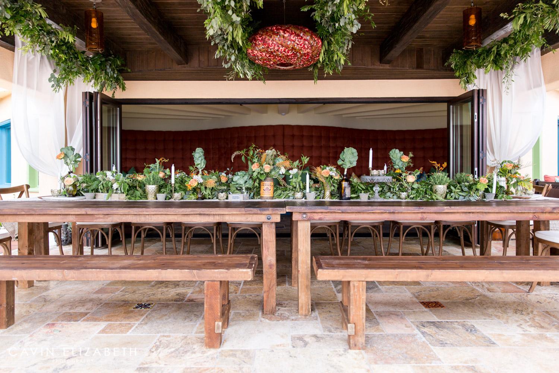 Peachy Farm To Table Theme Family Reunion In Encinitas - Farm to table san diego