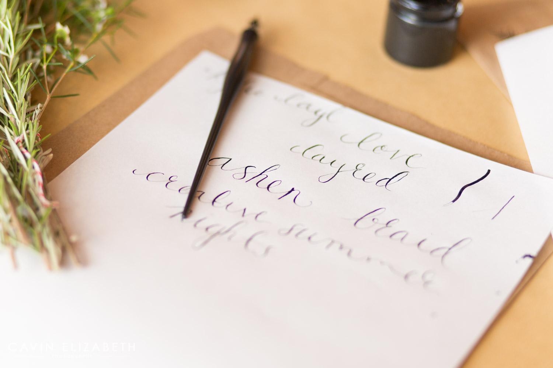 San diego calligraphy workshop studio vonberg