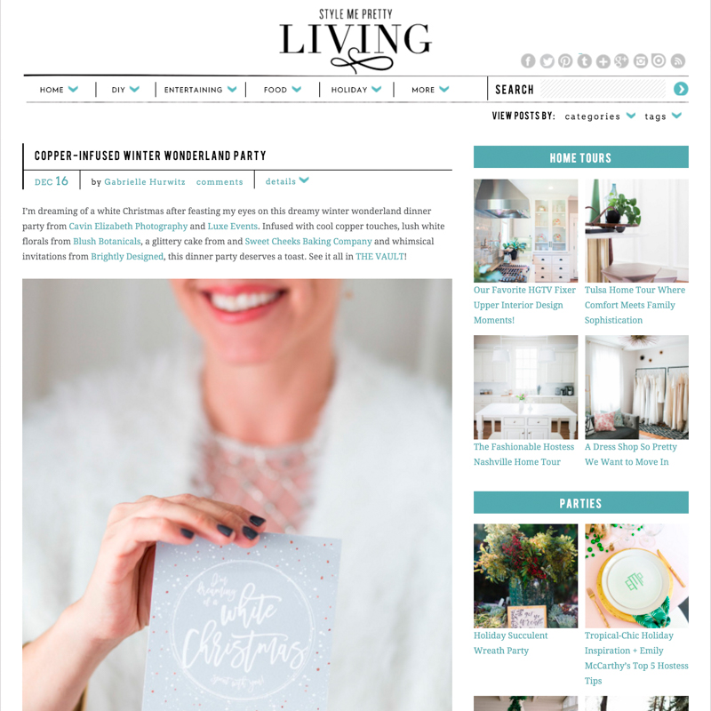 San Diego wedding photographer featured on style me pretty living press blog