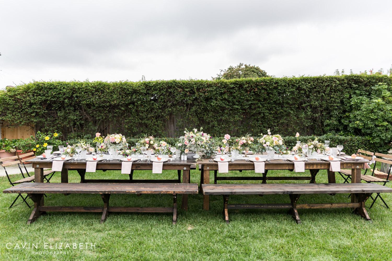 San Diego Bridal Shower, Beautiful Outdoor Vintage Romantic Bridal Shower  In San Diego
