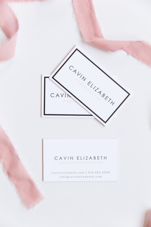 Cavin Elizabeth Letterpress Business Cards | Clove St Press