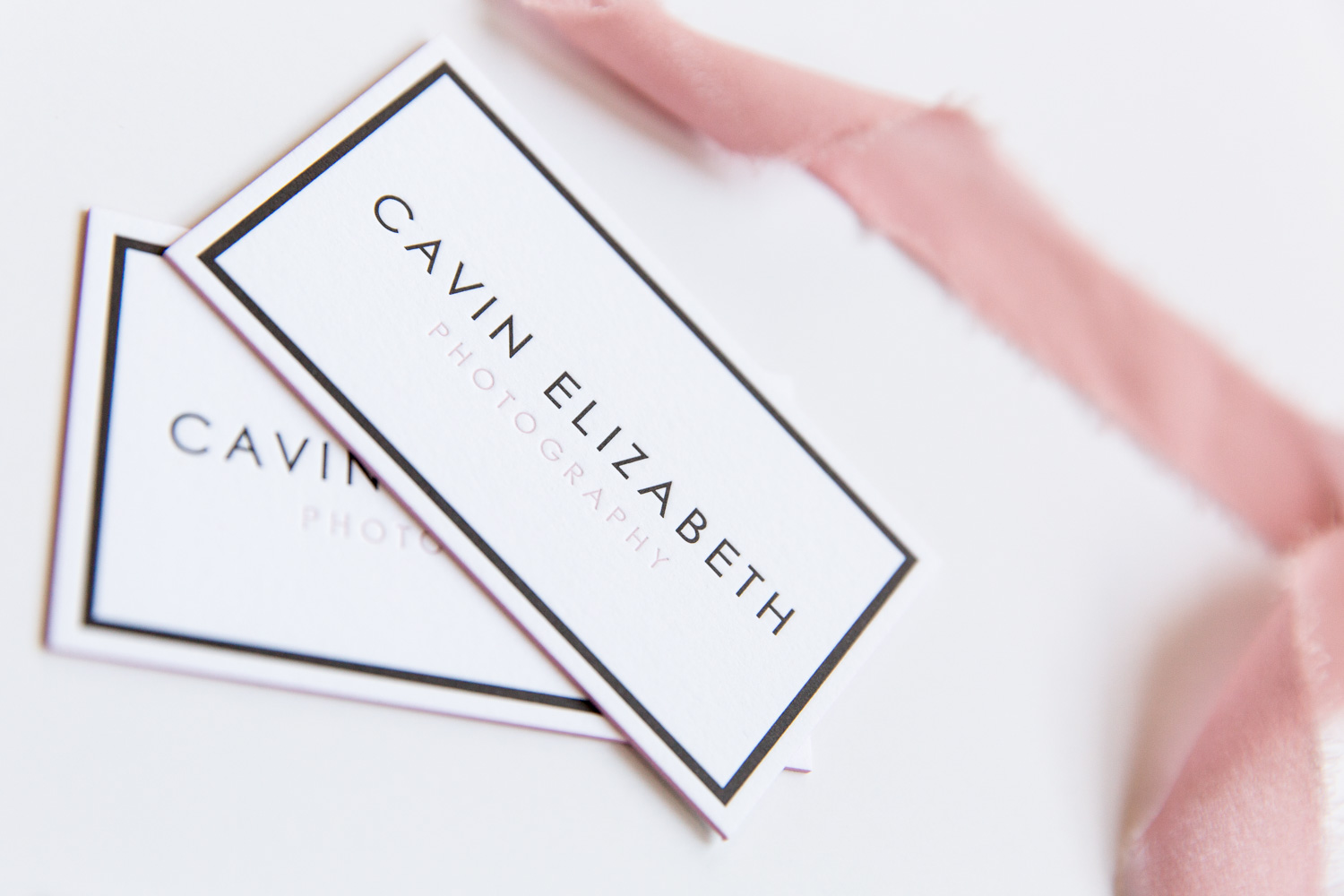 Cavin Elizabeth Letterpress Business Cards | Clove St Press