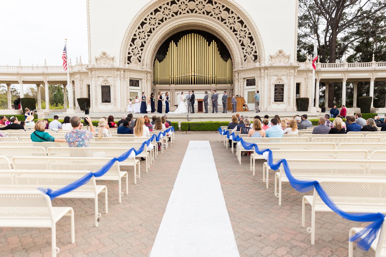 Spreckles Organ Pavilion Wedding Venue In Balboa Park San Go