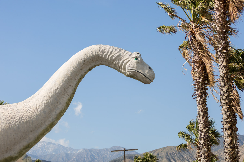 Palm Springs dinosaur statues