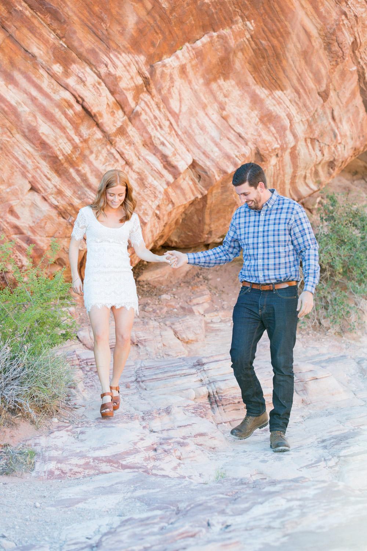 Red Rock Engagement Las Vegas Wedding Photographer