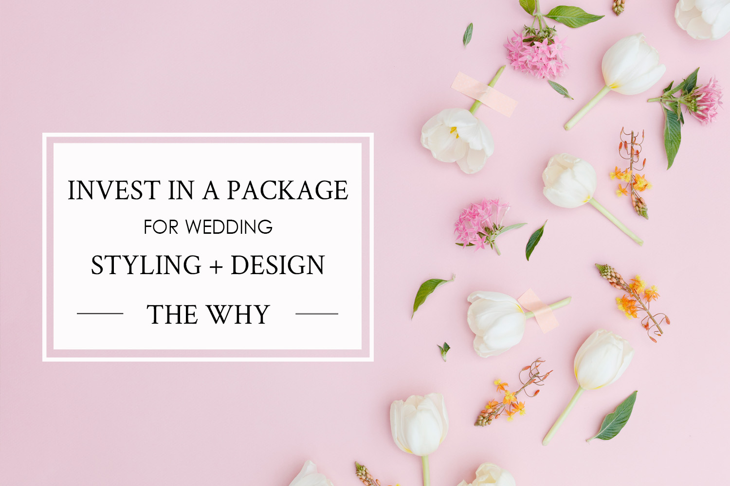 Why You Should Invest in a Wedding Design + Styling Package, Tips from Alexis of Salt Creative Company on Cavin Elizabeth's blog