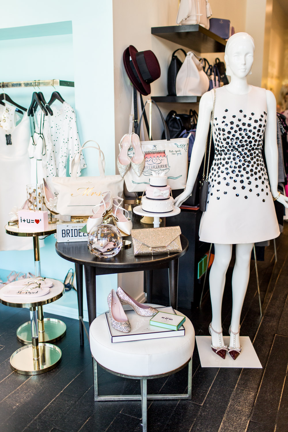 Kate Spade bridal collection handbags shoes stationery and decor, Cavin Elizabeth Photography