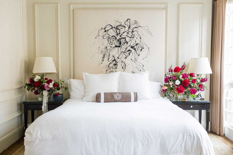 US Grant hotel bridal suite, Cavin Elizabeth Photography