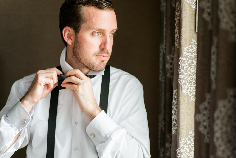 Groom getting ready for his wedding, Cavin Elizabeth Photography