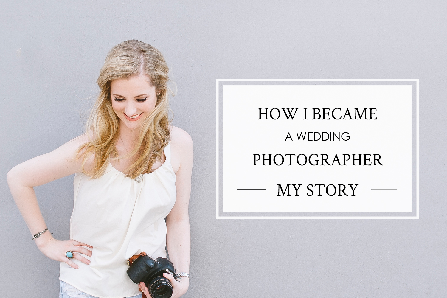 How Cavin Elizabeth Became a Wedding Photographer