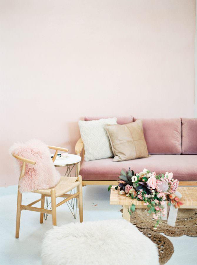 Chic Modern Pink Wedding Inspiration On Style Me Pretty