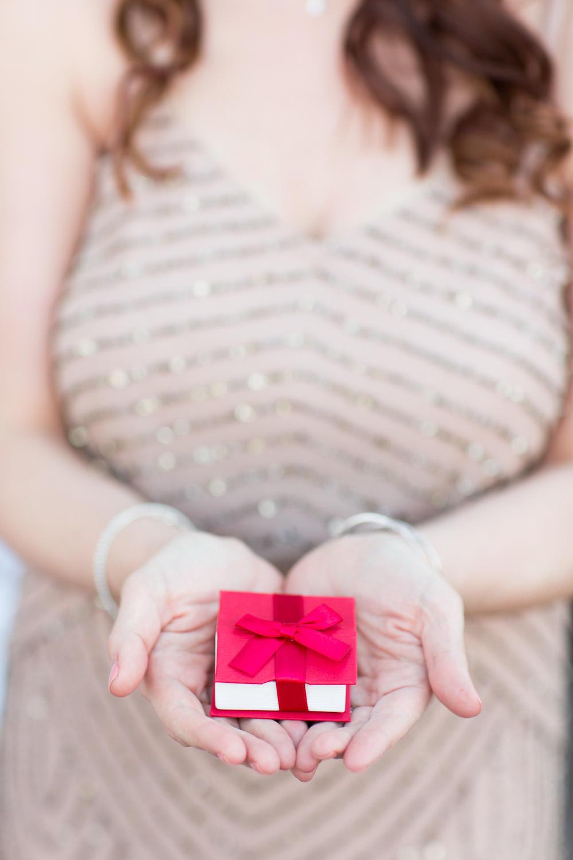 Rose gold bridesmaids bracelets, Cavin Elizabeth Photography