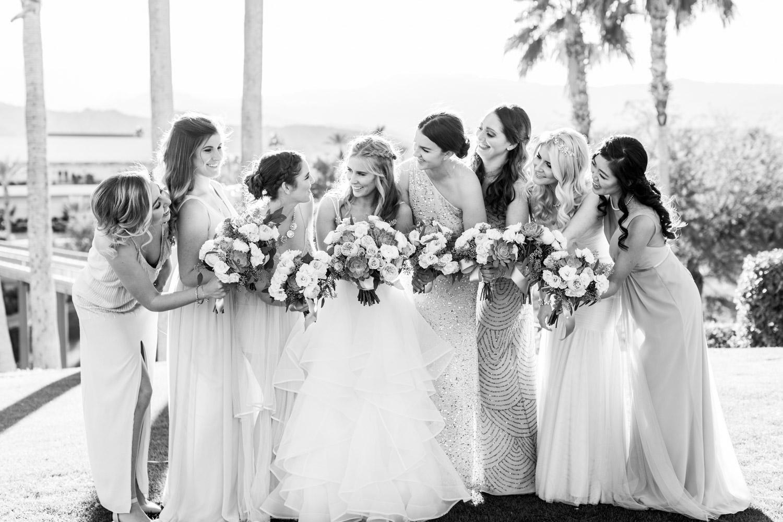 Indian Wells Golf Resort wedding bridal party photos, Cavin Elizabeth Photography
