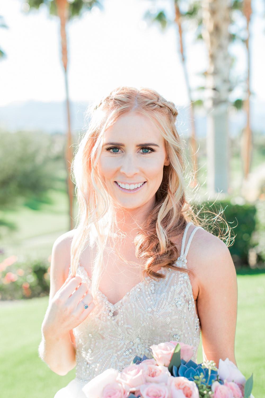 Indian Wells Golf Resort wedding bridal portrait photos, Cavin Elizabeth Photography