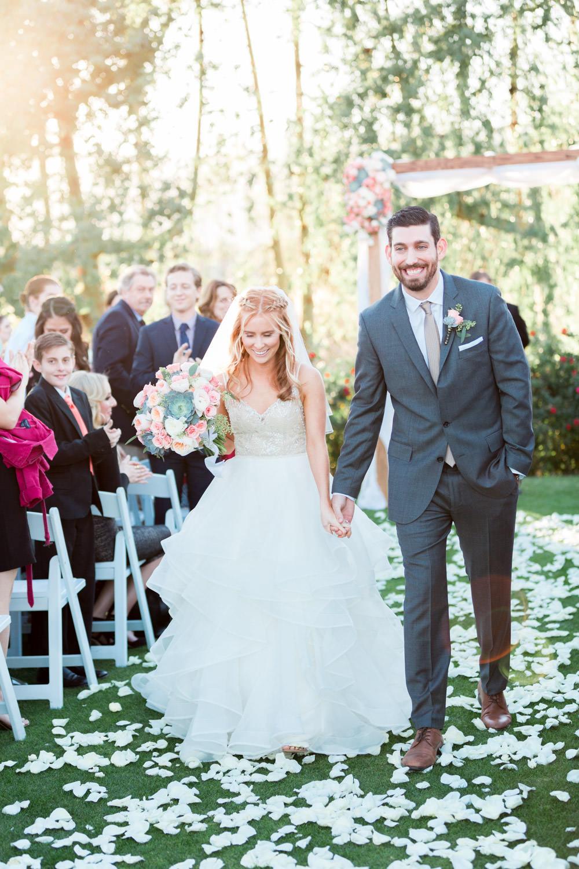 Indian Wells Golf Resort wedding ceremony Cavin Elizabeth Photography