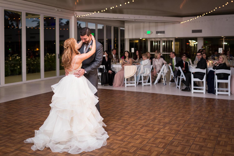 Indian Wells Golf Resort reception first dance, Cavin Elizabeth Photography