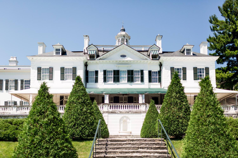The Mount in Lenox Massachusetts, Edith Wharton's home, the Mount wedding venue, Cavin Elizabeth Photography