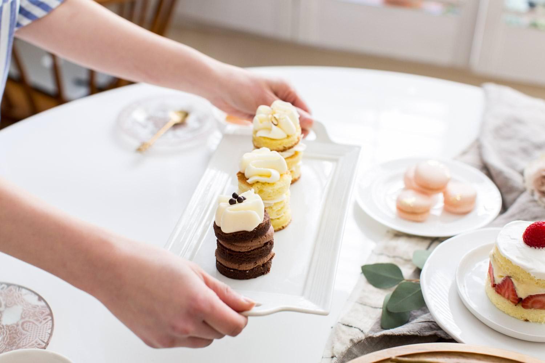 Cake Table Wedding Elegant