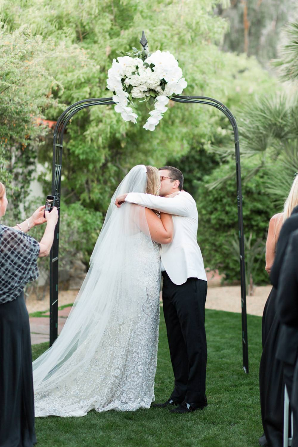 Winter Colony Palms Hotel Wedding In Palm Springs