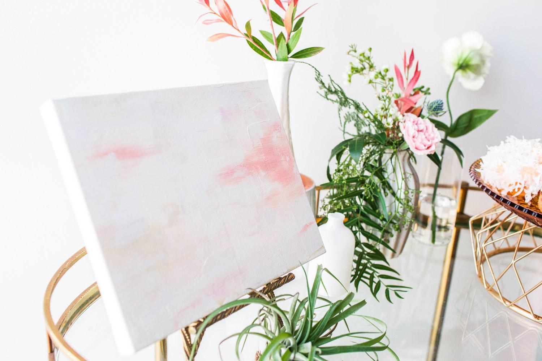 Custom Wedding Art: Wedding Decor You Can Keep for Your Home by Samantha Louise Designs, colorful wedding art, Cavin Elizabeth Photography