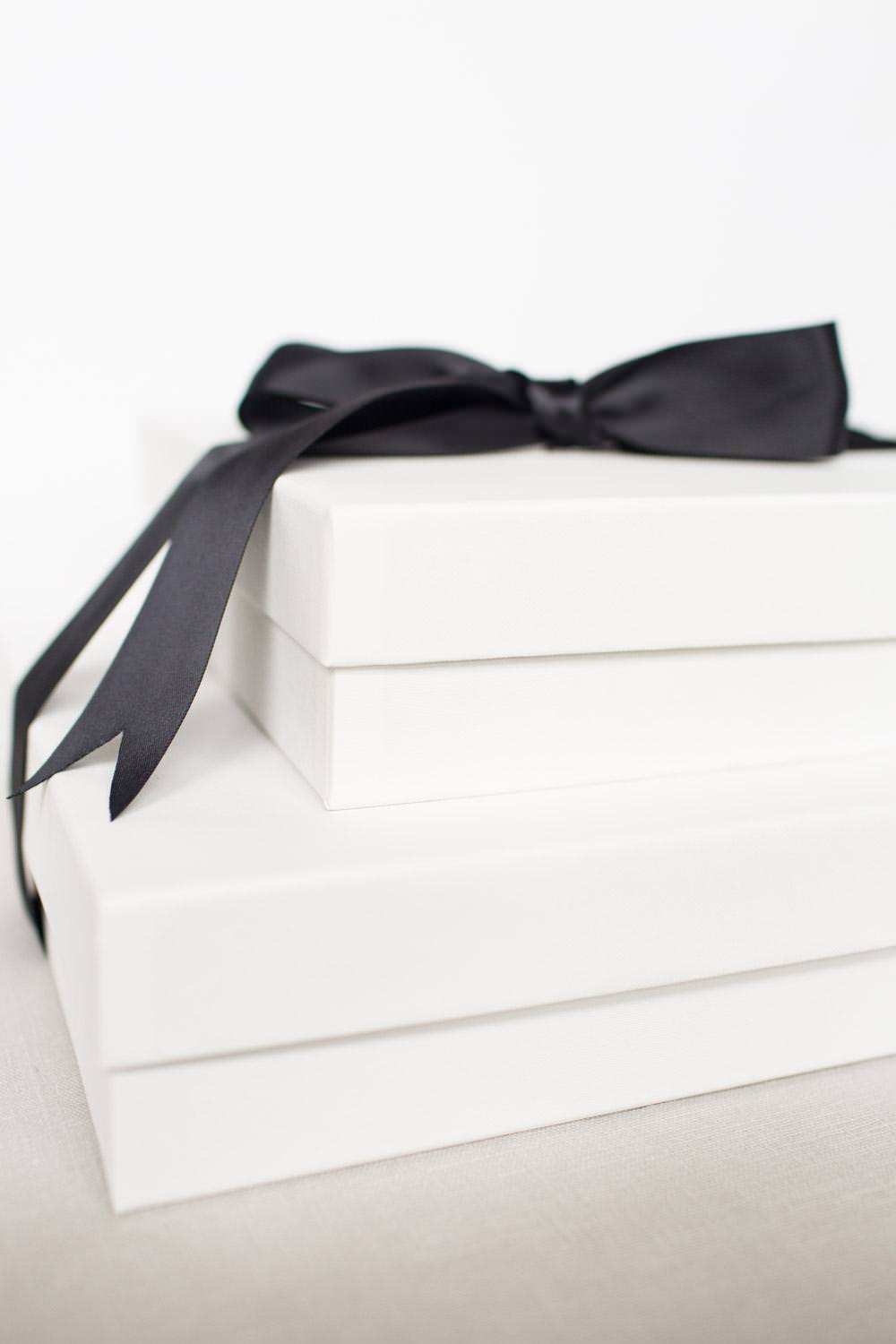 Wedding photographer chic packaging for albums, Cavin Elizabeth Photography