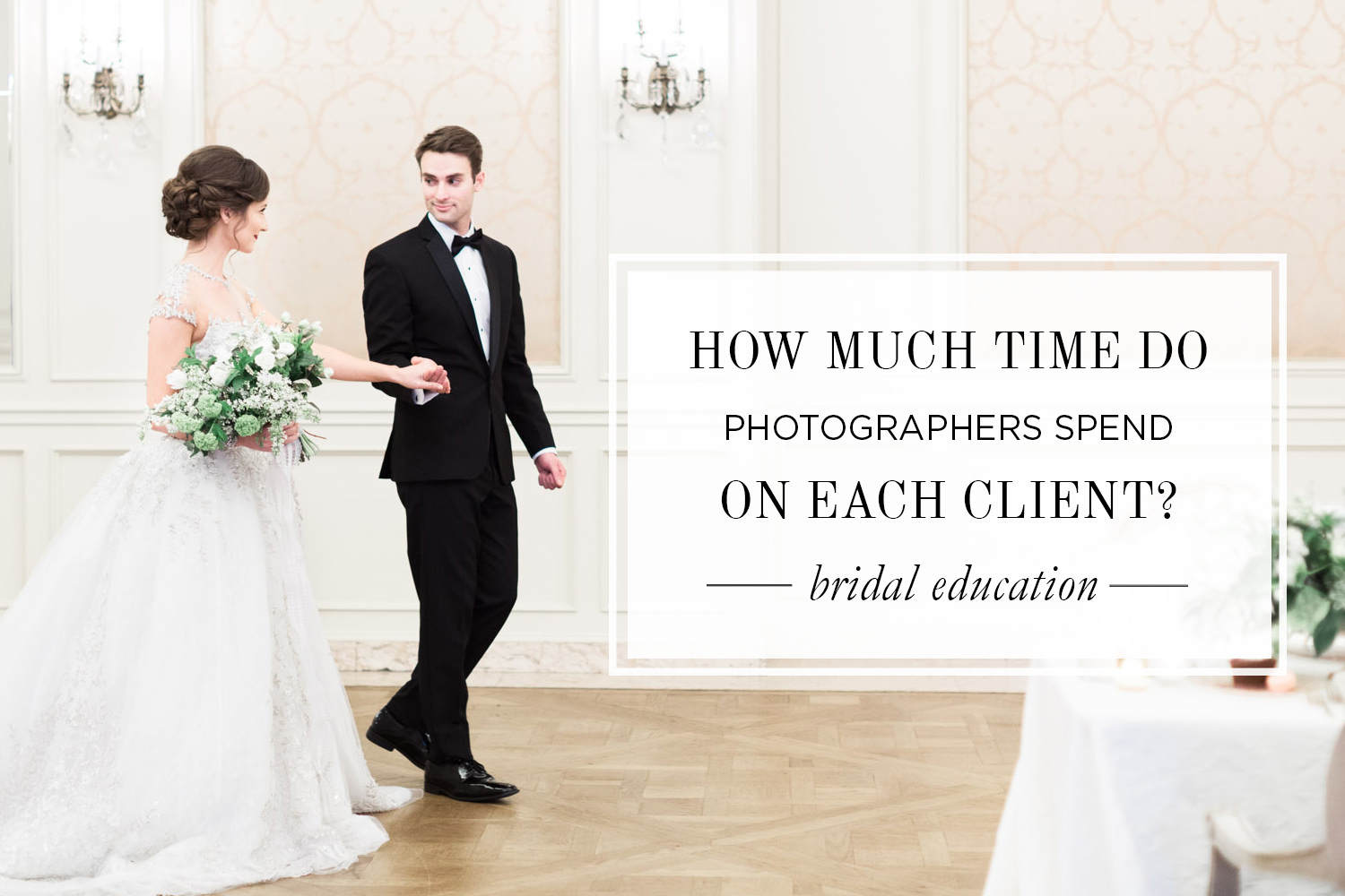 The actual time wedding photographers spend on each couple for How much to spend on wedding photographer