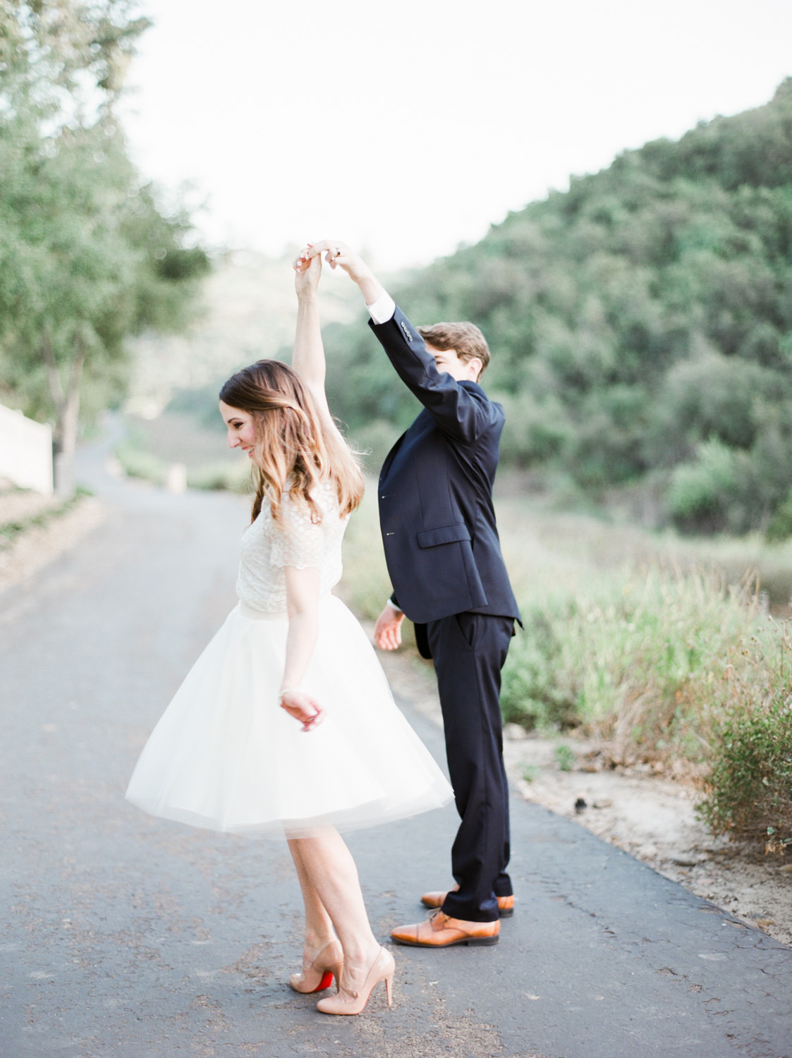 Sophisticated & Darling Film Anniversary Session in San Diego by Cavin Elizabeth Photography on Contax 645