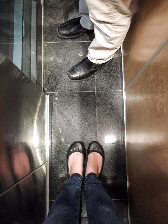 tiny french elevator