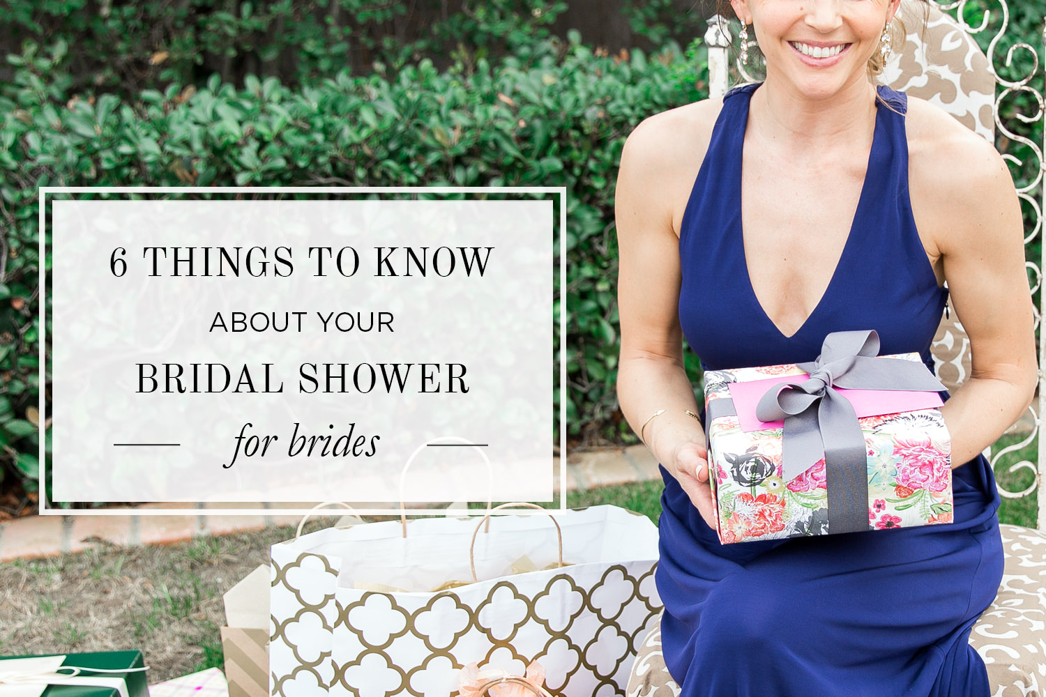 6 Things to Know about your bridal shower