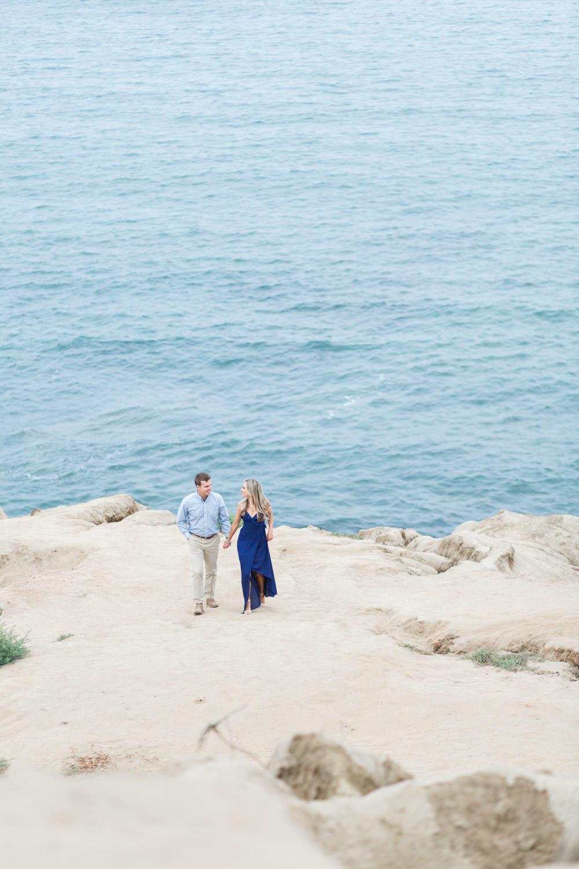 Epic landscape San Diego engagement, Gorgeous Sunset Cliffs Natural Park Engagement Photos, Cavin Elizabeth